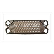 APV H17 associés à échangeur de chaleur à plaque, échangeur à plaques inox 316L