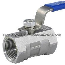 Válvula de bola de 1PC (Q11F) con extremo de brida
