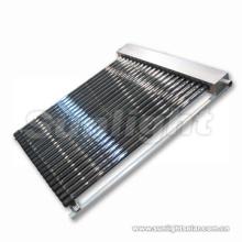 Separar el tubo autónomo del colector solar del vacío del calor presurizado con SRCC y Solarkeymark (aluminio)