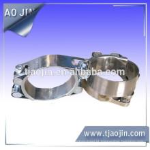 Braçadeira de fixação de tubo de parafuso duplo de alta qualidade