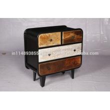 Cabinet de sculpture à 4 tiroirs