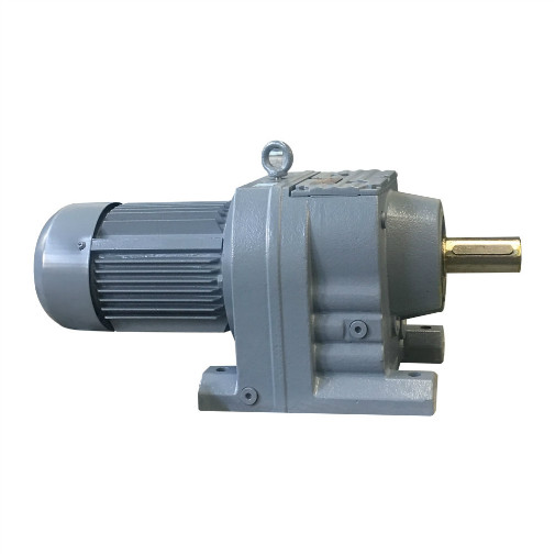 Foot+Mounted+Helical+Gear+Electric+Motor+Speed+Reducer