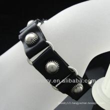 Wholesale genuine leather bracelet christian jewelry BGL-033
