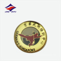 Singapur Porträt Logo Wushu Training Revers Abzeichen