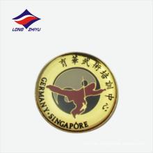 Insignia de la solapa de la insignia del entrenamiento de la espada de la ji del Tai