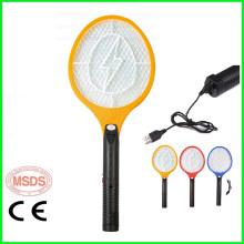 Raket de moustique électrique rechargeable d'USB de moustique / batte électrique de moustique / tueur de moustique / tueur d'Aedes / Aedes Terminator