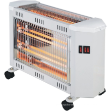 New electric quartz heater,decorative electric heaters, electric heater 220v with castors