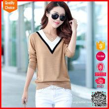 las nuevas mujeres de la llegada modificaron los suéteres para requisitos particulares de las mujeres del algodón del suéter