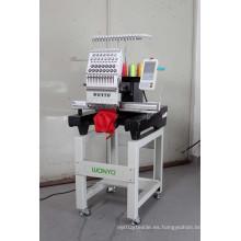Máquina principal del bordado del casquillo del solo OEM Wy1201CS / Wy1501CS