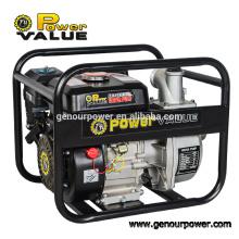 Potencia de valor WP20CX 5.5hp motor 2 pulgadas gasolina bomba de agua