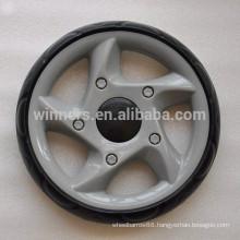9 inch plastic EVA toy wheel, stroller pram wheels