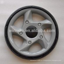 Roda plástica do brinquedo de 9 polegadas EVA, rodas do pram do carrinho de criança