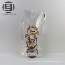 Emballage de biscuit de pain de papier de kraft de catégorie comestible