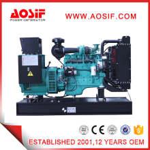 Elegido Color Silencioso Tipo Diesel Generator Set of CUMMINS Engine