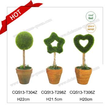 10-18cm Último diseño de la llegada de la flor única del árbol artificial de la decoración