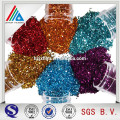 Colored reflective glitter film