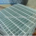 Placa de grade de aço hexagonal galvanizado, grade galvanizada padrão ansi, piso de grade galvanizado