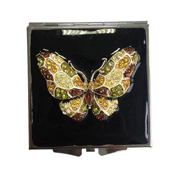 Papillon mult-couleur Compact Mirrors