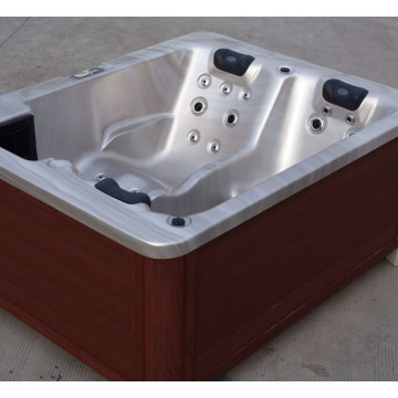 White color 3 person hot tub