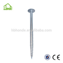 HOT DIPPED GALVANIZED SCREW GROUND ANCHOR FOR WOODEN HOUSE