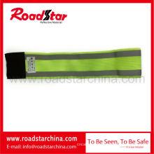 braçadeira de segurança reflexivo elástica poliéster 100% para esportes