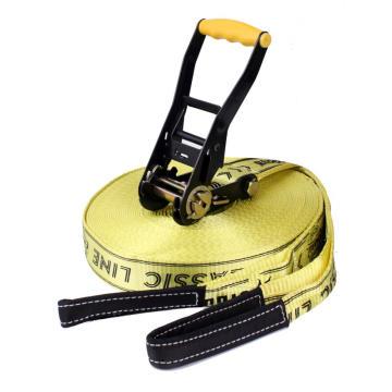 """Chaussures Slackline Factory de 2 """"en plastique noir à poignée facile pour 6600LBS"""