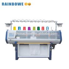 Alto custo desempenho único systerm informatizado plana máquina de tricô preço