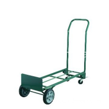 Steel 400-Pound Capacity Dual Purpose 2 Wheel Dolly and 4 Wheel Cart