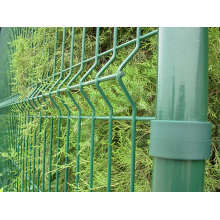 PVC Powder Coated Security Metal Fence Post
