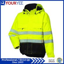 Veste de pluie Hi Vis abordable avec bande réfléchissante de 3 m (YFS114)