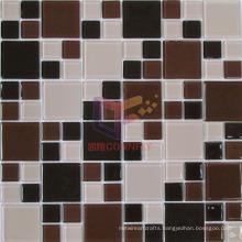 Brown Color Bath and Pool Used Crystal Mosaic (CFC506)