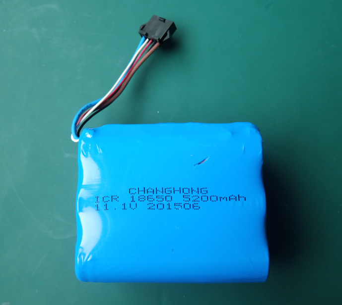 11.1V Li Ion Battery Pack