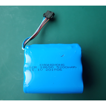 11.1V deep cycle military radio battery with smbus