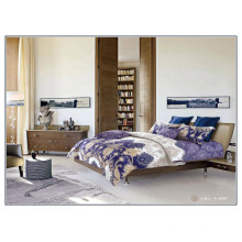 133 * 72 luxuoso padrão de algodão reativo de alta qualidade reativa impresso grosso folha conjunto de roupa de cama