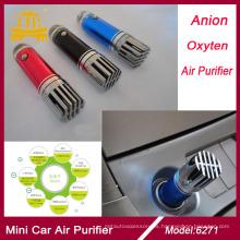 Mini barra del oxígeno fresco aire purificador para el coche, Auto anión (iónico) ambientador purificador