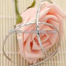 High quality 925 sterling silver big hoop earrings