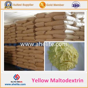 Prix d'usine Maltodextrine jaune organique