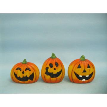 Abóbora de Halloween cerâmica artes e ofícios (LOE2375-A7)