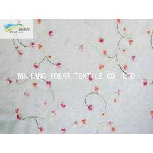 Чистый хлопок вышивка ткани для домашнего текстиля