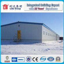 Structure en acier ondulée de cadre de feuille pour l'entrepôt