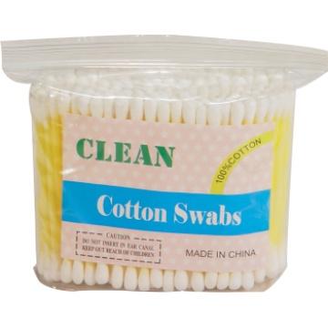 Colle bâton cotons-tiges (200PCS/plastique sacs)