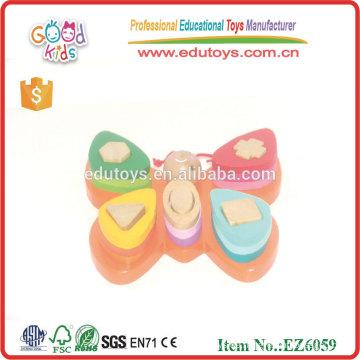 Pädagogisches Spielzeug Farbe Schmetterling