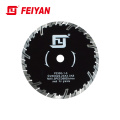 Feiyan A+Grade Diamond Turbo Rim Sintered Blade T Shape Protective Teeth Segmented Small Cutting Blade