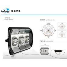 Lumière à tunnel LED 180W avec excellente dissipation thermique et imperméable à l'eau