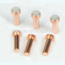 China low voltage Electrical contact rivet factory