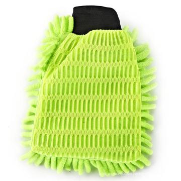 Guantes de limpieza del coche de chenilla de polvo de microfibra de suministro de fabricante de precio razonable