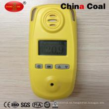 Alarma de detector de gas combustible para oxígeno O2 con precio de fábrica
