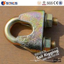 Sujetadores de hierro maleable Clip de cuerda de alambre
