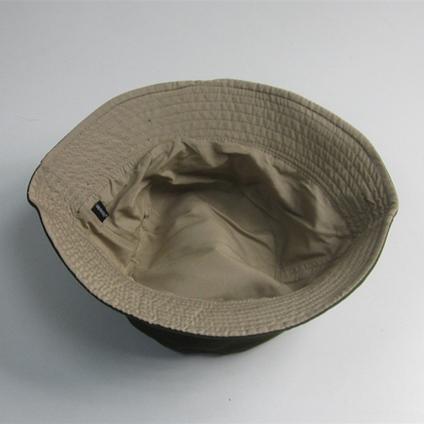 Plain Reversible Blank Bucket Hat