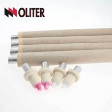 Thermocouple jetable de type OLITER platine et rhodium hotsale pour le four de fusion